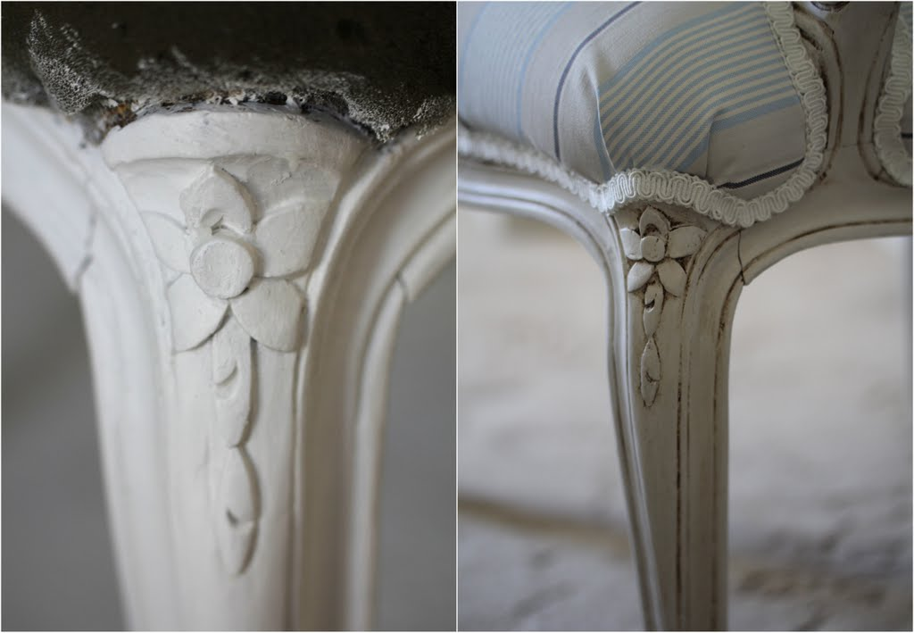 Lilyfield Life Guide to Antiquing Painted Furniture with Dark Wax - Lilyfield Life: Starters' Guide: How To Antique Painted Furniture