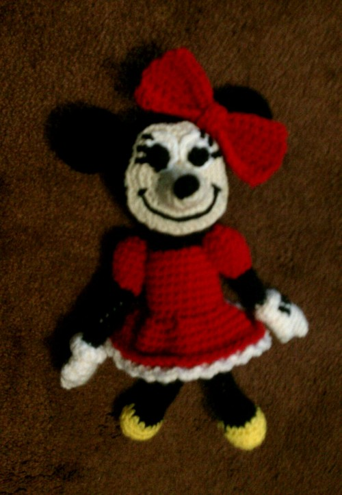 Free Crochet Pattern For Mickey Mouse Doll