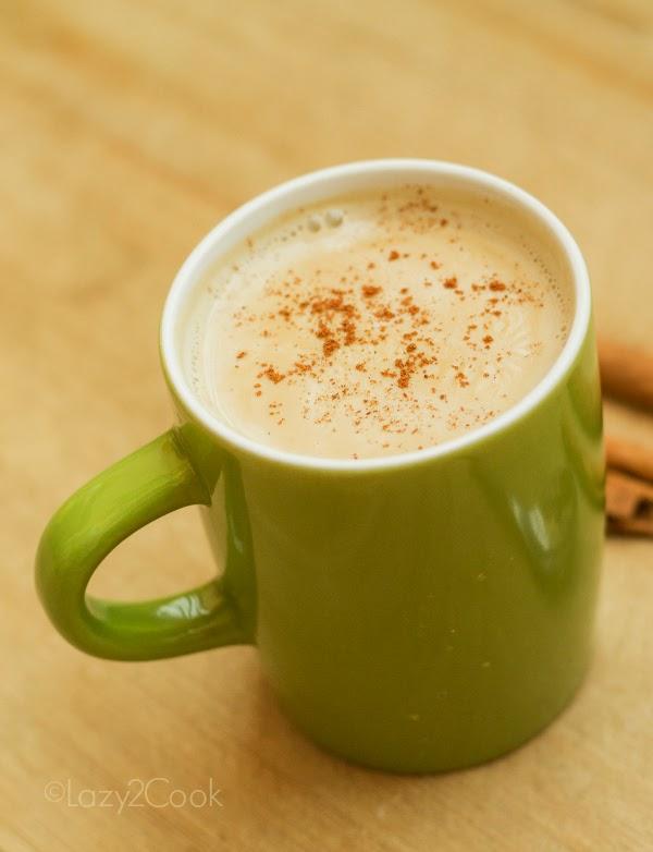 cinnamon flavored coffee