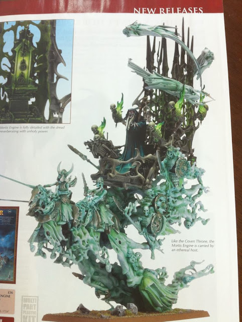 Warhammer Mortis Engine miniature picture photo