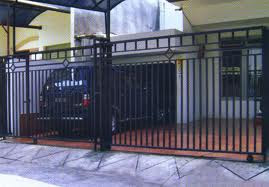 tentang model pagar minimalis