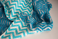 Tutorial: Chevron Chenille Baby Blanket