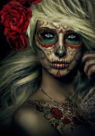links: Easy Halloween Face Painting Designs - Pretty Halloween Face Paint Ideas