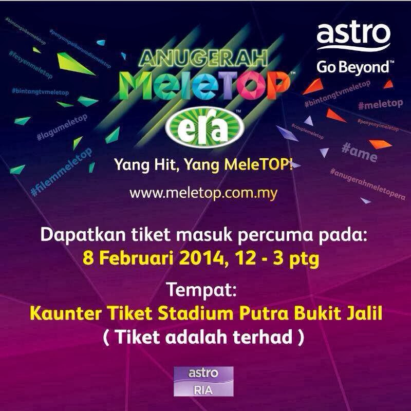 Anugerah Meletop ERA 2014 FULL tonton dan download
