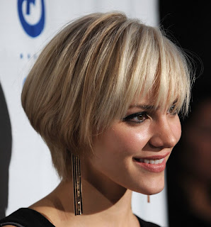 Celebrity Short Hairstyles for Oval Face
