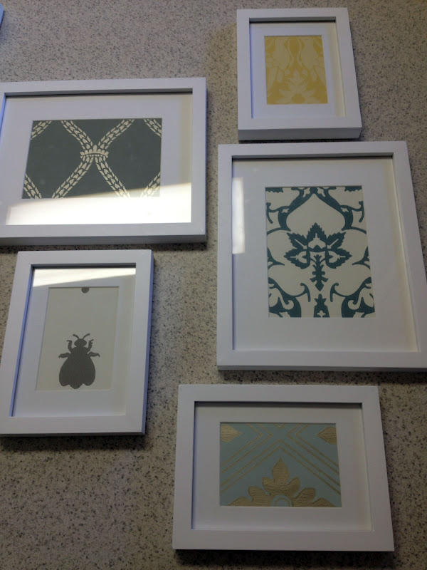 Designs by Kimberly Francom and Associates: Framed Wallpaper as ...