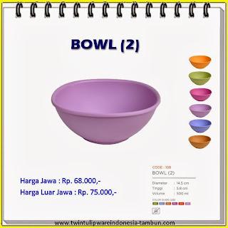 Bowl Tulipware 2013