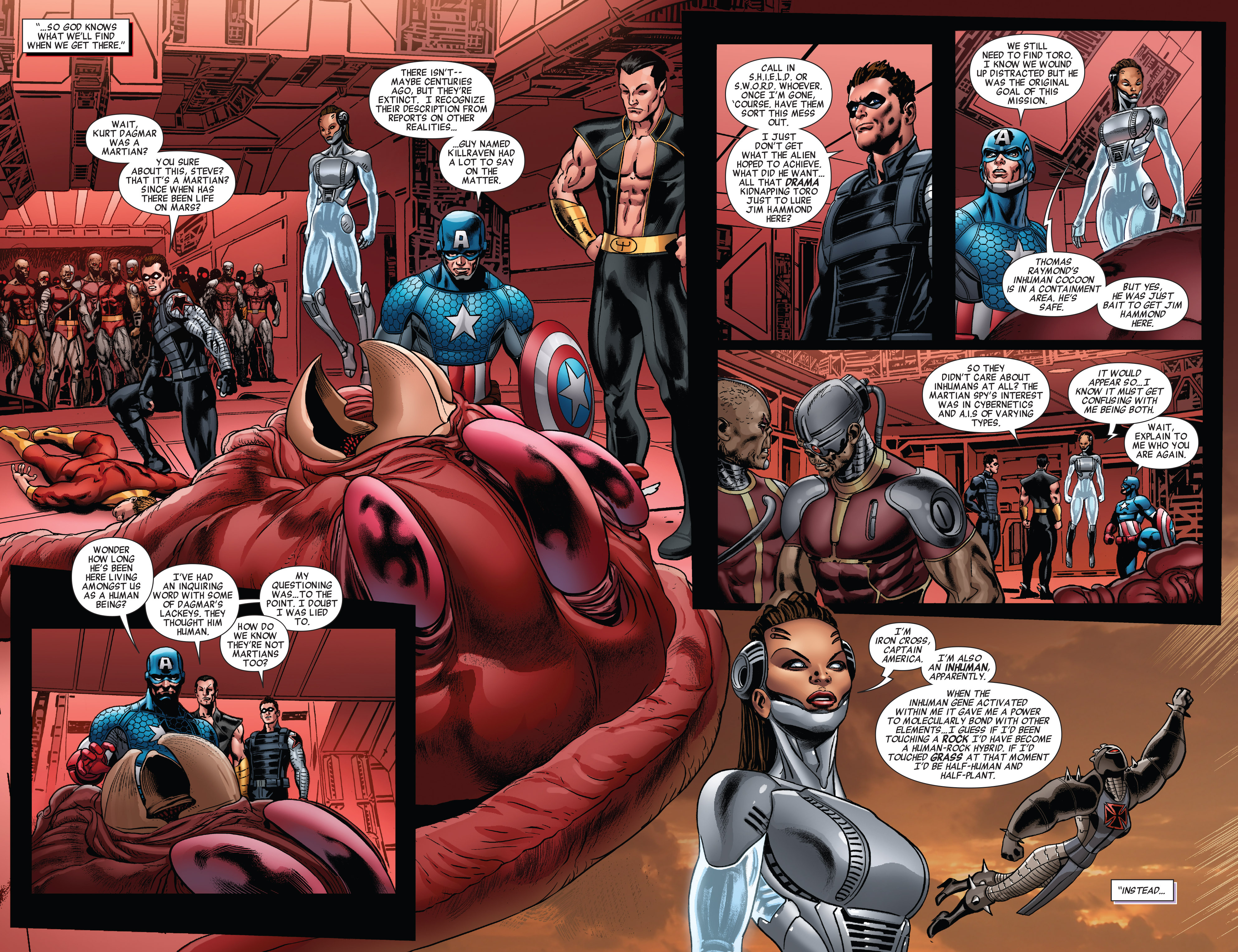 Read online All-New Invaders comic -  Issue #10 - 10