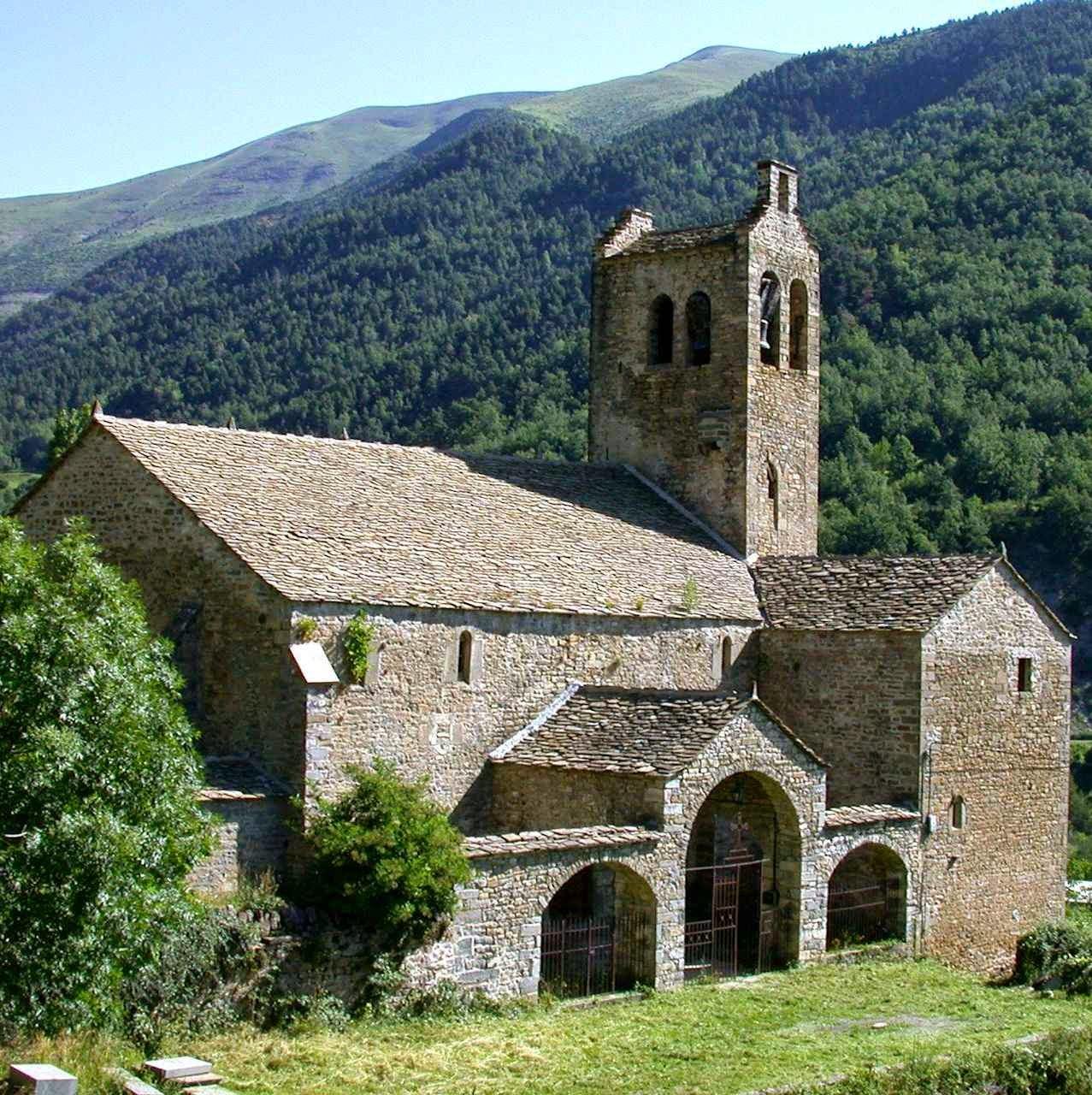 Capela nos Pirineus