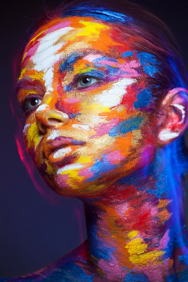 faces transformed into famous paintings1