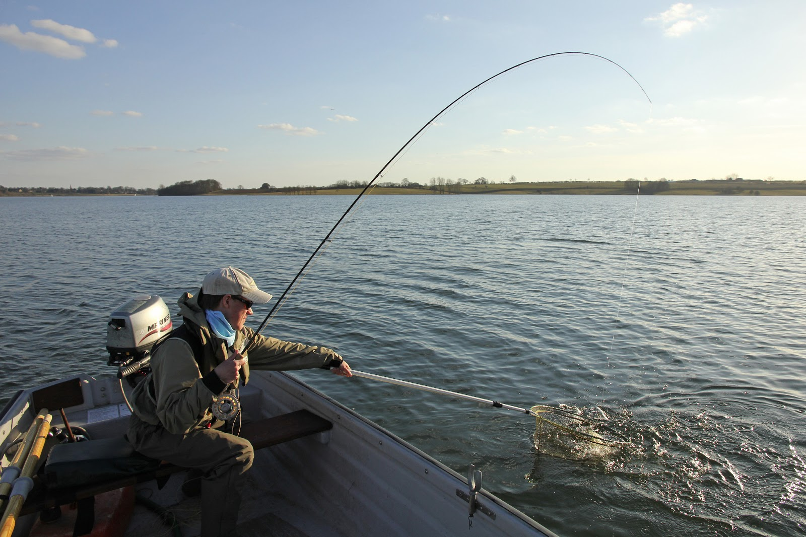 how to fish buzzers on small stillwaters