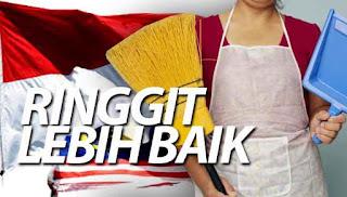 Ringgit jatuh: Pembantu rumah Indonesia tetap pilih Malaysia