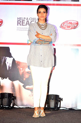 Kajol Devgan at 'Lifebuoy' promotion event