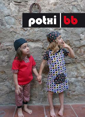 PotxiBB, ropa bebé, niño y niña Barcelona