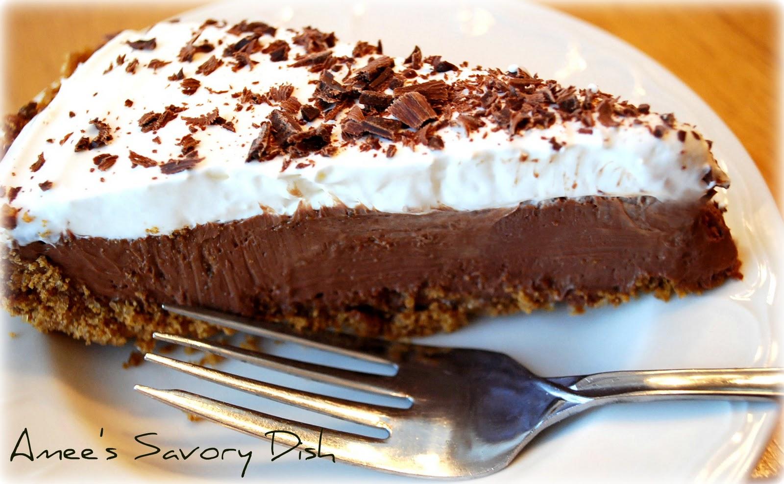 easy chocolate tofu pie recipe yummly easy chocolate tofu pie ...