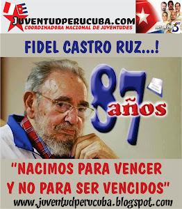 VIVA FIDEL CASTRO RUZ...!