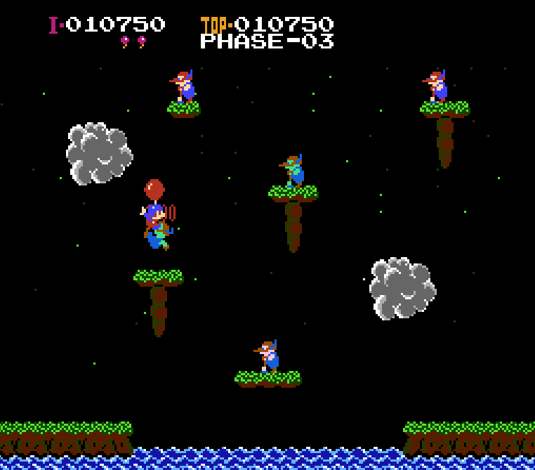 It Is A Title: Farewell Iwata: Balloon Fight