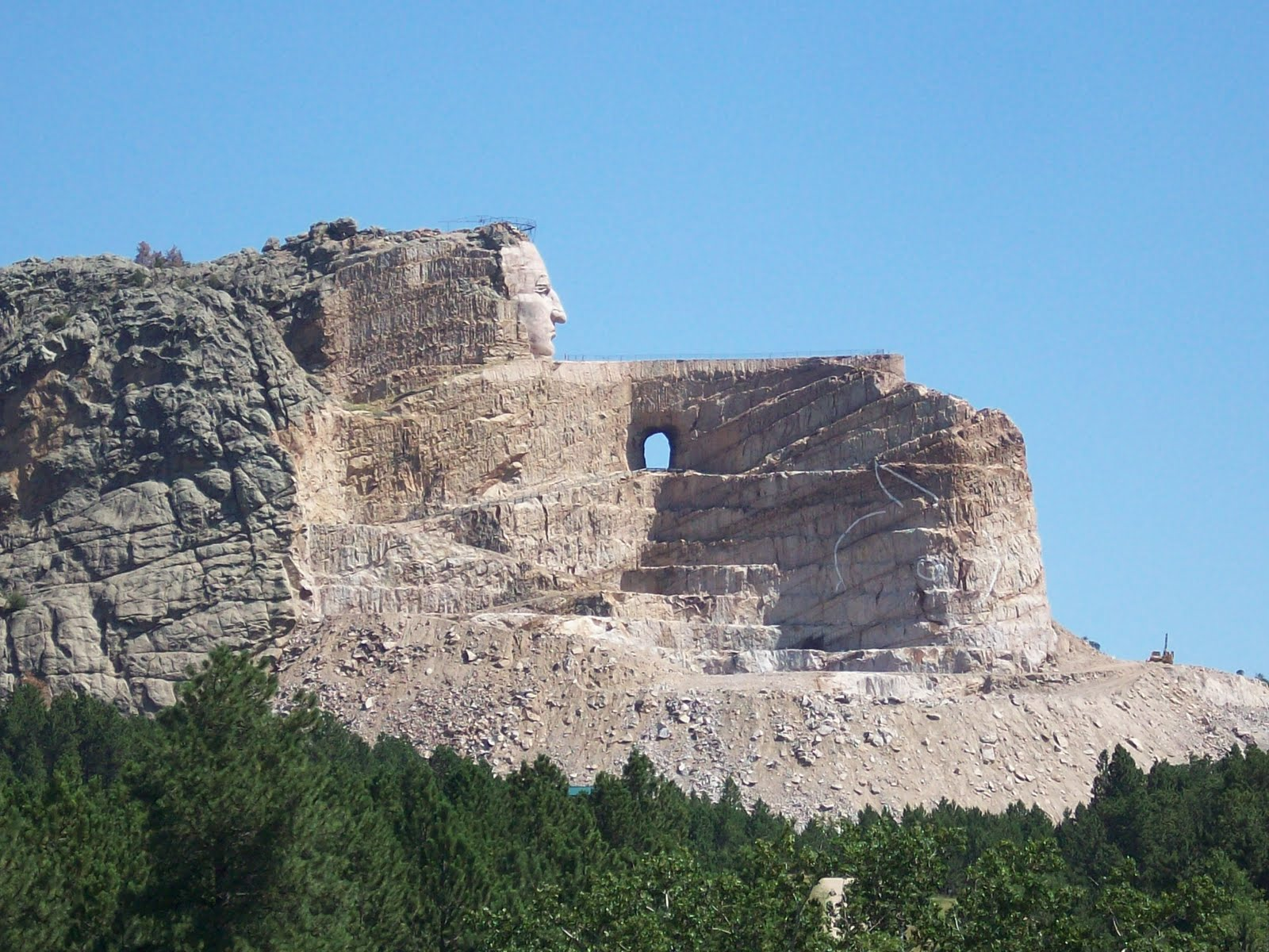 Crazy Horse Memorial Completion Date A monument to a sioux warrior ...