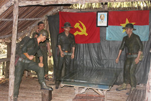 Rừng Sác guerilla base in the mangrove forest