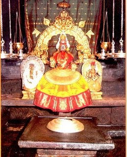 Picture of Goddess Mookambika Devi of Kollur Mookambika Temple in Karnataka