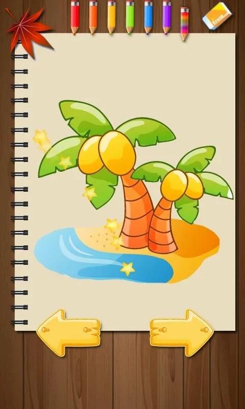 Libro para colorear los niños gratis para android