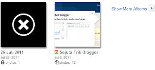 Kapasitas Upload Gambar di Blogger