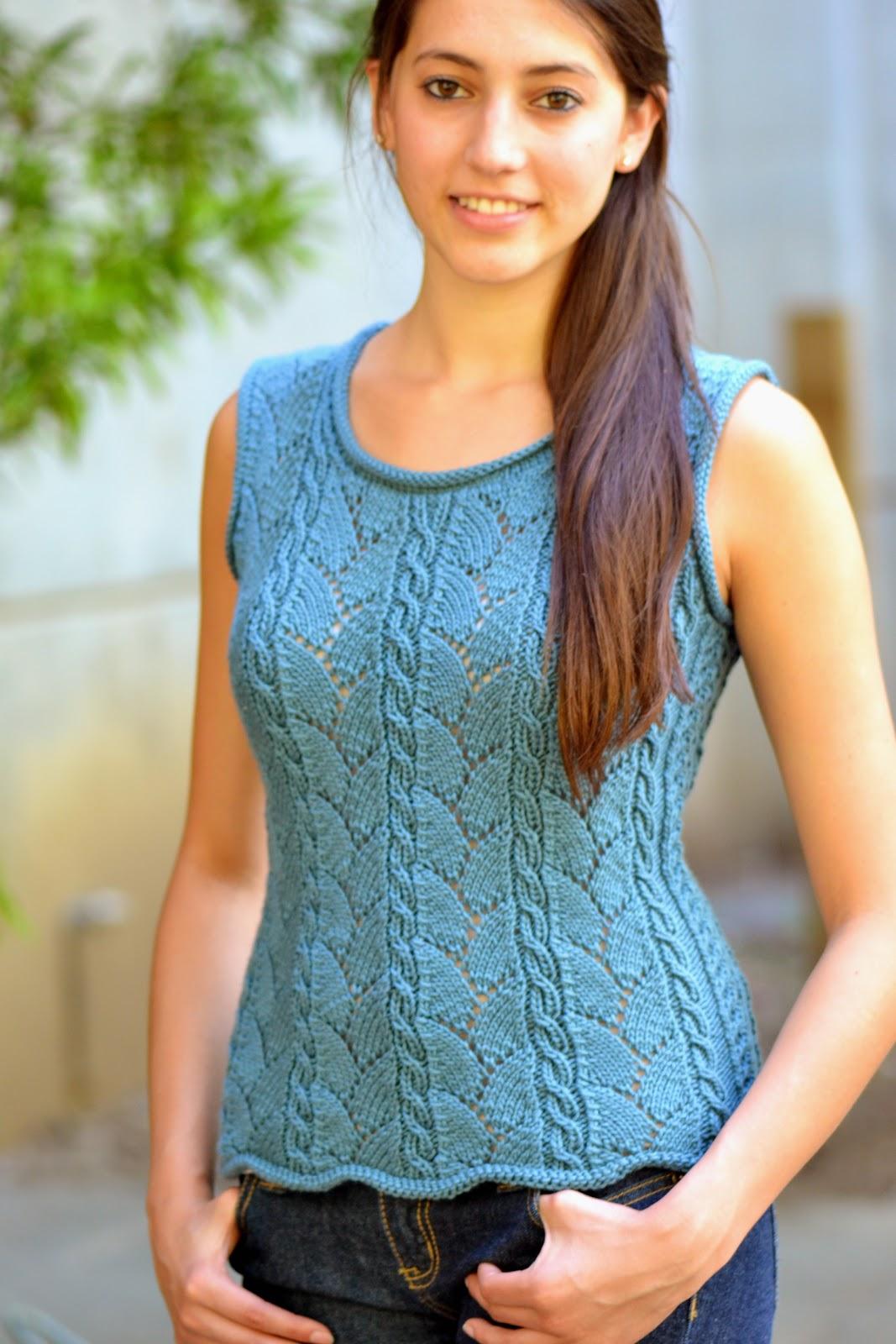 Faina\'s Knitting Mode: New pattern: Milana