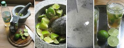 Zubereitung Virgin Caipirinha