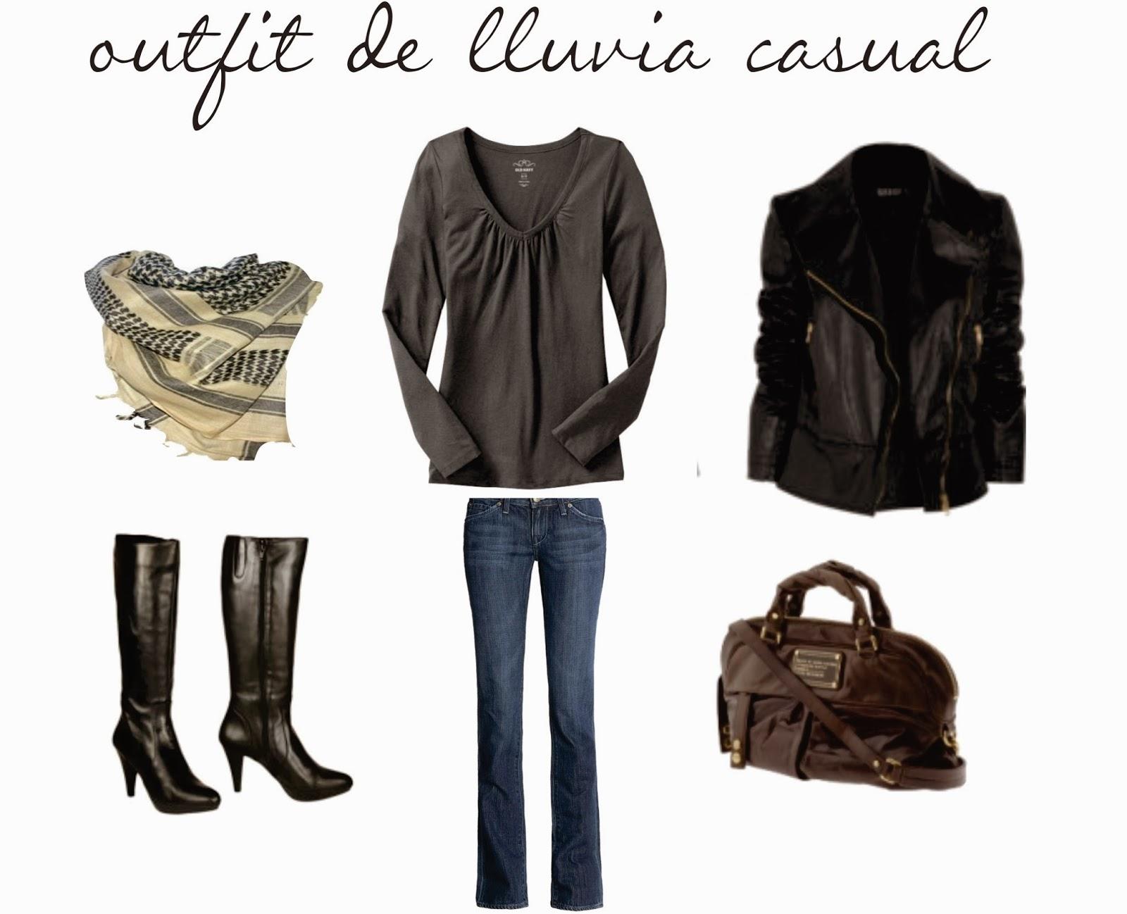 Outfits Para Temporada De Lluvia