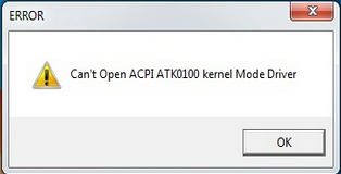 драйвер acpi atk0100 для asus windows 7