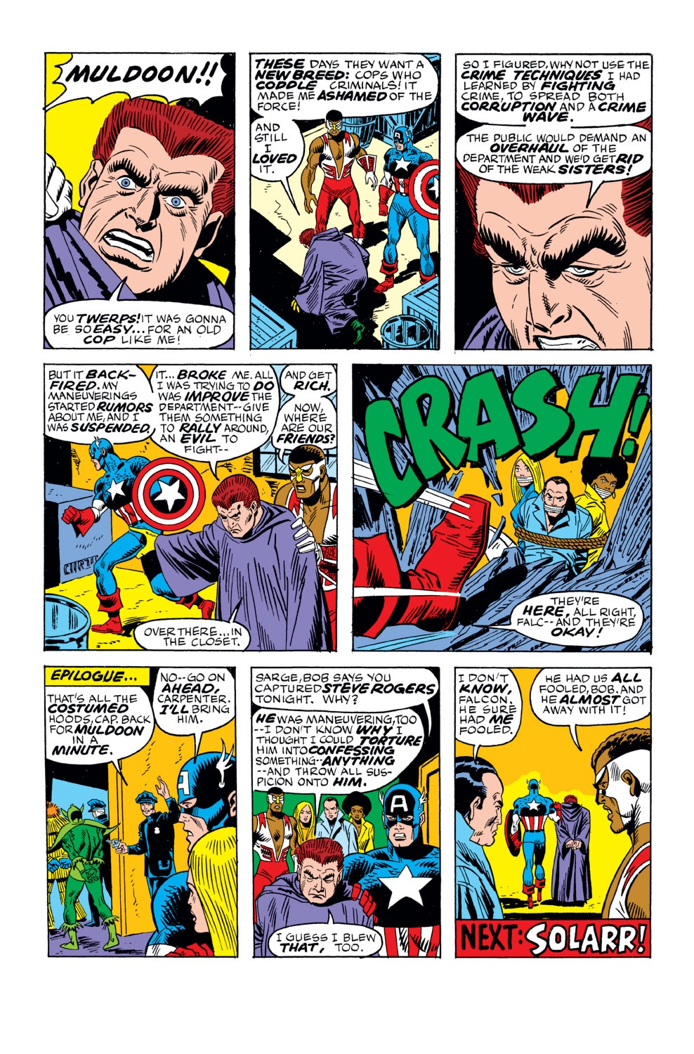 Captain America (1968) Issue #159 #73 - English 21