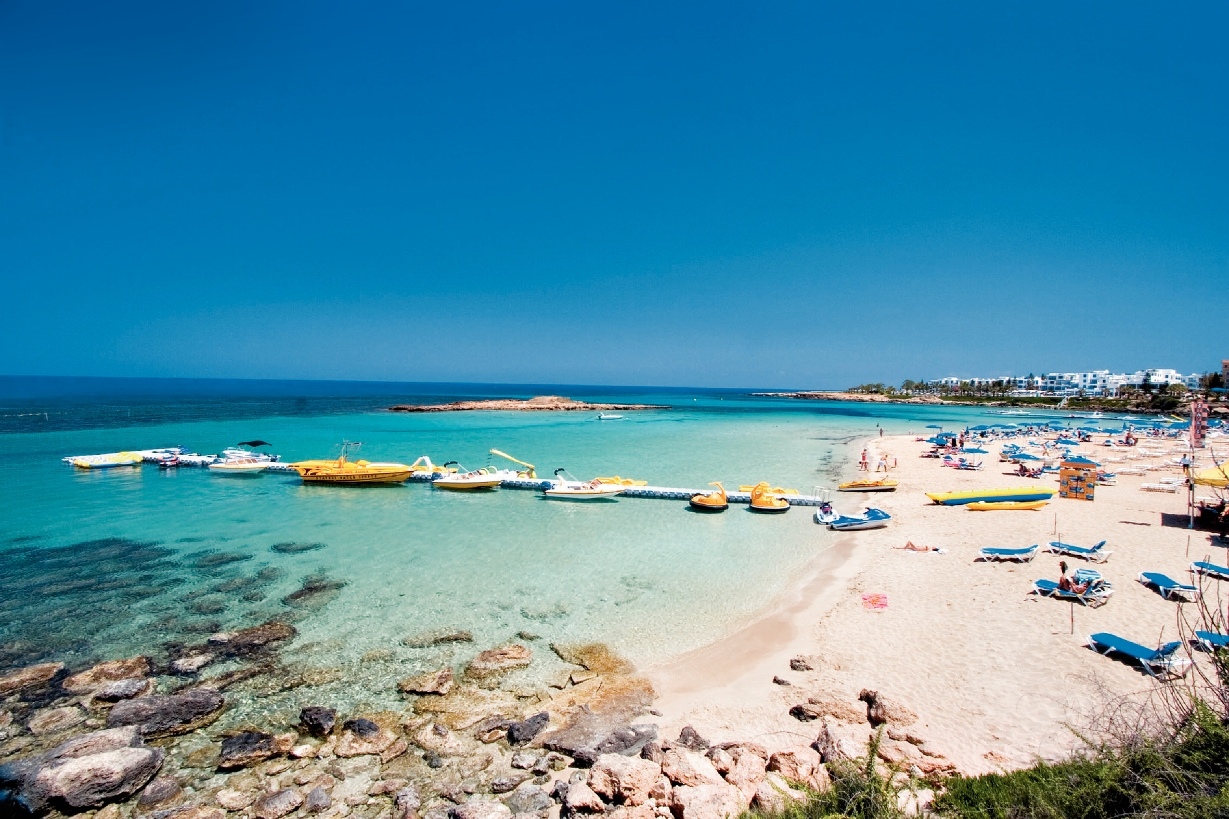 Protaras Cyprus  City new picture : Tree Bay beach, Protaras, Cyprus