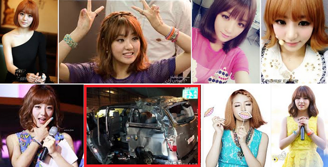 Singer EunB of Korean Pop Group Ladies' Code Died on Car Accident