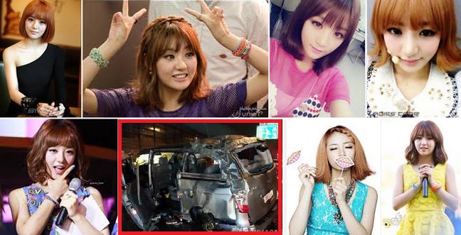 Singer EunB of Korean Pop Group Ladies' Code Died on Car Accident