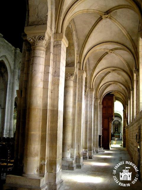 MONTIVILLIERS (76) - Abbaye bénédictine
