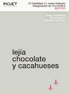 """""""Lejía, chocolate y cacahueses"""""""