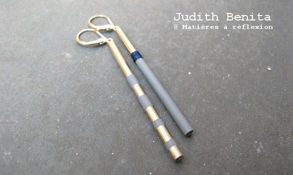 judith benita boucles d 39 oreilles mati res r flexion paris. Black Bedroom Furniture Sets. Home Design Ideas