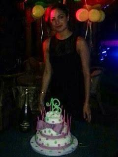 torta 18 anni pois e fiocco