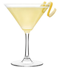 Jamie Oliver's Vanilla and Lemon Martini