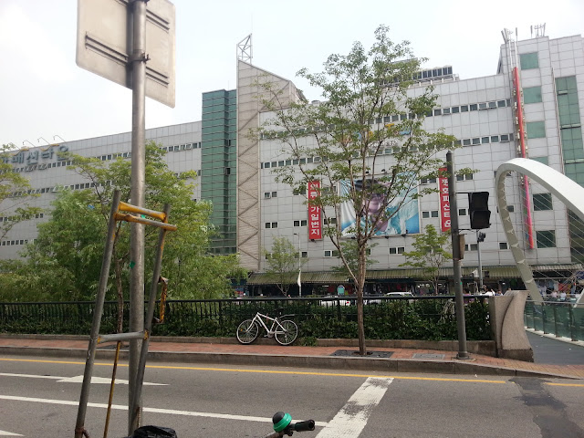 Dress shops at the Dongdaemun
