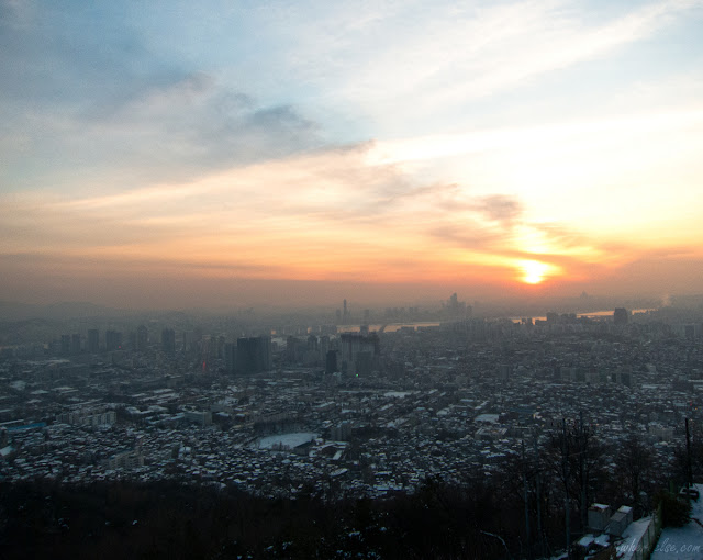 Sunset in Seoul