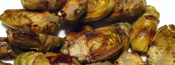 how to make fried artichokes