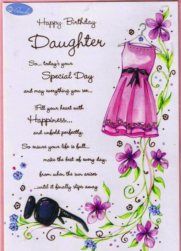 images of birthday wishes for daughter - photo #39