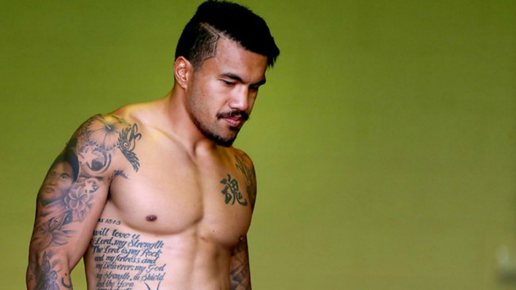 Digby Ioane And His TattoosQuade Cooper Tattoo 2013