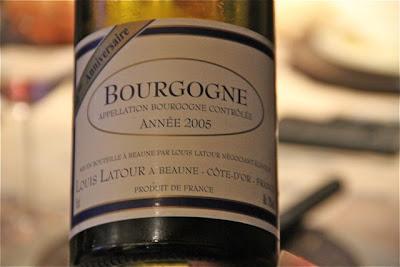 Bourgogne Blanc Louis Latour 2005.  Blog Esteban Capdevila