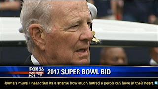James Baker : Houston Super Bowl Bid Headed By Former U.S. Secretary of State