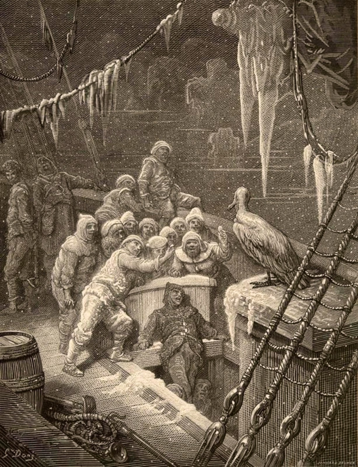 the rime of the ancient mariner essay rime of the ancient mariner  tellers of weird tales friend island being a veracious tale of an ancient mariness is cast