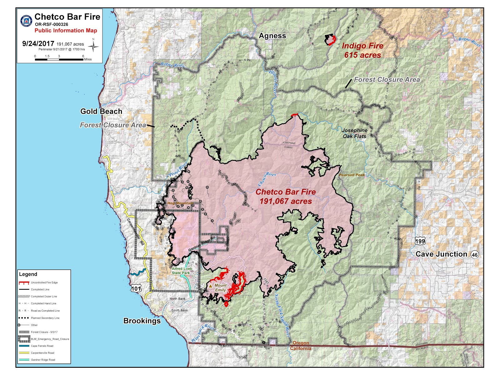 temporary flight restrictions tfr are in effect over the chetco bar fire area pilots are advised to seek more information using the link under online