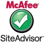 برنامج McAfee SiteAdvisor لحمايتك عند التصفح