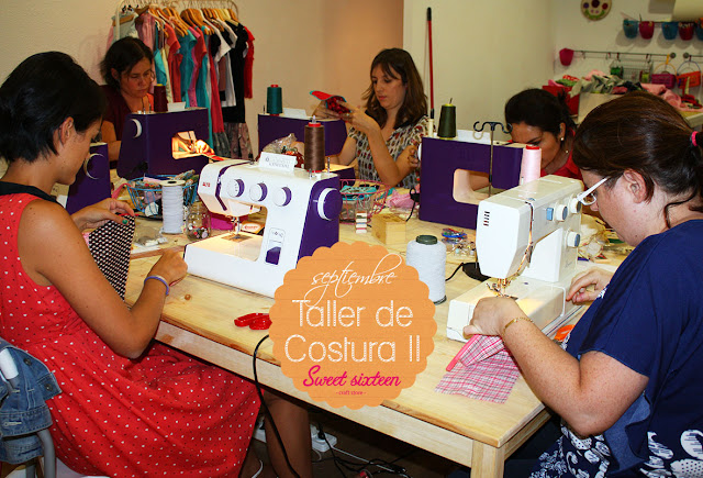 Taller COSTURAII Sweet sixteen craft store, Madrid